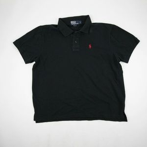 Polo Ralph Lauren Polo Golf Shirt Size L Black